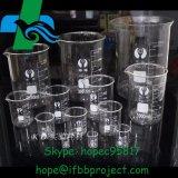 250ml 500ml 1000ml 3000ml 4000ml en verre borosilicaté 5000ml haute bécher le matériel de fabrication de produits pharmaceutiques