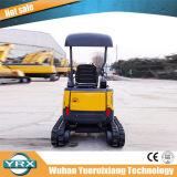 Mini-excavatrice chenillée Yrxct16, excavatrice 1700kg