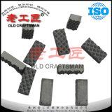 ダイヤモンドのドリル棒のチャックの顎のための炭化タングステンの交換可能な挿入