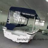 Bateau de touristes de bateau de passager de coque de fibre de verre de Liya 5.8m pour la pêche