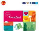 로고 인쇄를 가진 ISO14443A 13.56MHz PVC Contactless NFC 카드