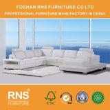 Sofà stabilito 8039 del cuoio di figura del sofà sezionale moderno U della mobilia