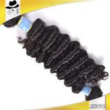 優秀なブラジルの深い波の毛With100%Unprocessed