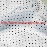衣服のワイシャツのスカートのための印刷されたジャカード100%Cottonファブリック