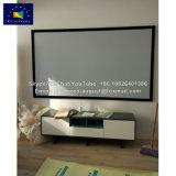 X-ybildschirm-dunkelgrauer Film-örtlich festgelegter Rahmen-Projektions-Bildschirm mit HD Grau-Gewebe