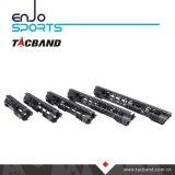Composto della fibra del carbonio di Keymod Handguard della guida di Picatinny (G08M15)