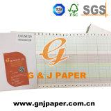 Papier de tableau d'enregistrement de marque d'OEM pour l'approvisionnement d'hôpital