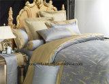 Bladen van het Bed van het Linnen van het Ontwerp van het Borduurwerk van de luxe de Zijdeachtige naar huis Gebruikte
