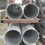 Tube 6063-T5 d'alliage d'aluminium avec la taille 600mm*8mm en stock