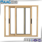 Flexibilidade de projeto de vidros duplos e portas de vidro corrediço de porta de alumínio
