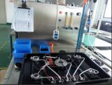 Uso della stufa di gas dei tre bruciatori per il comitato d'acciaio 710-N16 di colore