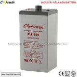 Larga vida sin necesidad de mantenimiento/batería 2V3000ah de VRLA /AGM