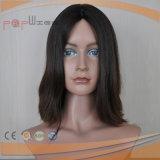 Черный парик человеческих волос фронта шнурка девственницы