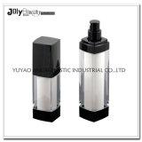 明確なプラスチック50ml真空ポンプの空気のないびんの化粧品の使用