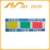 Calibrador de alta temperatura del color del papel termal auto-adhesivo del cambio