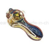 Tubo di fumo di vetro del cucchiaio della mano ciotola di vetro del tubo della mini (ES-HP-326)