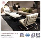 Muebles del hotel de Yabo con el sofá moderno de la tela del pasillo (HL-1-1)