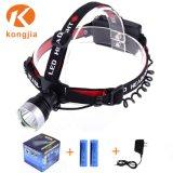 밝은 10W Headlamp LED 재충전용 Xm-L T6 LED Headlamp