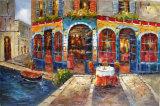 Las escenas europeas paisaje pintura al óleo