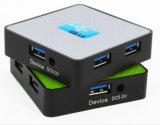 4ポートは各USB 3.0に供給力に3.0 USBのハブ、外部力プラグを提供する