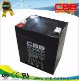 AGM gedichtete Säure-Batterie des Leitungskabel-12V5ah für Beleuchtungssystem