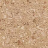 Gelber Golde Farben-Marmor-Stein-Keramikziegel für Fußboden-Fliese