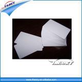 China Factory 125kHz PVC TK4100 Branco e cartões inteligentes RFID imprimível trabalhando com 125kHz leitor RFID para o tempo