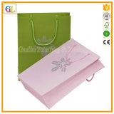 Подгонянная напечатанная бумажная хозяйственная сумка