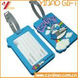 PVC荷物の札、柔らかいPVC札の熱い販売のカスタムロゴ