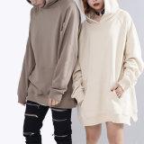 中国の工場StreetwearはプルオーバーのRaglan袖長いHoodiesを切り開く