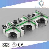 [فوشن] أثاث لازم 10 أشخاص مكتب اللون الأخضر حاجز حاسوب طاولة ([كس-و1892])
