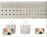 Manier Dame Handbag 2PCS Totalisator met van de Baby de Holle uit Pu Handtas van de Zak (WDL0882)