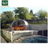 Châssis en aluminium de sécurité personnalisé un bain à remous d'hiver Boîtier en polycarbonate