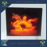 Venta caliente holograma láser 3D con el número de etiquetas impresión personalizada