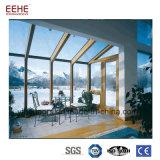 Алюминиевой изогнутые рамкой стеклянные панели Sunroom