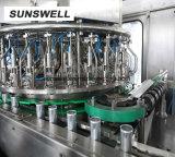 El aluminio puede llenar la cerveza de la máquina de sellado