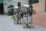 10t-100t de Huisvesting van de Filter van de Zak van de Behandeling van het Water van de flens SS304