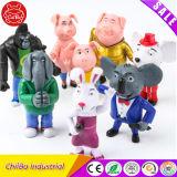 Crystal Action Plastic Figure Toy para crianças (CB-PF010-M)