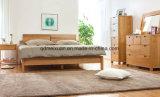 Cama de madera maciza modernas camas dobles (M-X2284)
