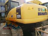 Originale Giappone di KOMATSU di seconda mano/usato PC220-7 del cingolo dell'escavatore di KOMATSU (PC220-6 PC220-7) dell'escavatore di costruzione del macchinario