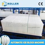 Máquina refrigerando direta automática do bloco de gelo das toneladas de Koller 10/dia Dk100 para a pesca