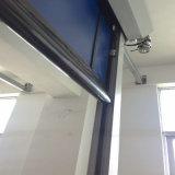 Puerta de alta velocidad industrial del obturador de Roling de la tela del PVC Auto-Que restablece para el almacén logístico (HF-E101)