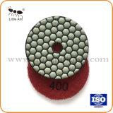 """Tampon de polissage de diamants à sec-de-chaussée du matériel de la plaque d'outils abrasifs pour Stone 3""""/80mm"""