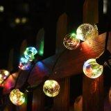 25 LEDのG40ストリングライトは地球の球根を暖める