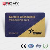 Boleto de papel reescribible de RFID para la gerencia de la calidad de miembro
