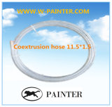 Шланг Coextrusion 11.5*1.5 для агрегата, Пыл-Дуя инструмента пушки распыляя, пробок топлива