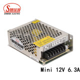 Smun as-75-12 75W 12VDC 6A MiniStromversorgung der größen-LED