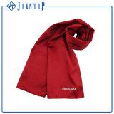 暖かいクリスマスのギフトの方法はサテンの正方形のスカーフをよじ登る