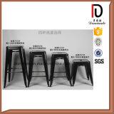 Moderne Stab-Möbel-französische industrielle Art gebildet im China-Metallschemel
