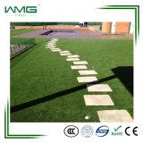 Сада лужайки Lanscape высокой плотности трава самого последнего искусственного пластичная зеленая